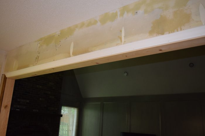 Half Wall Removed