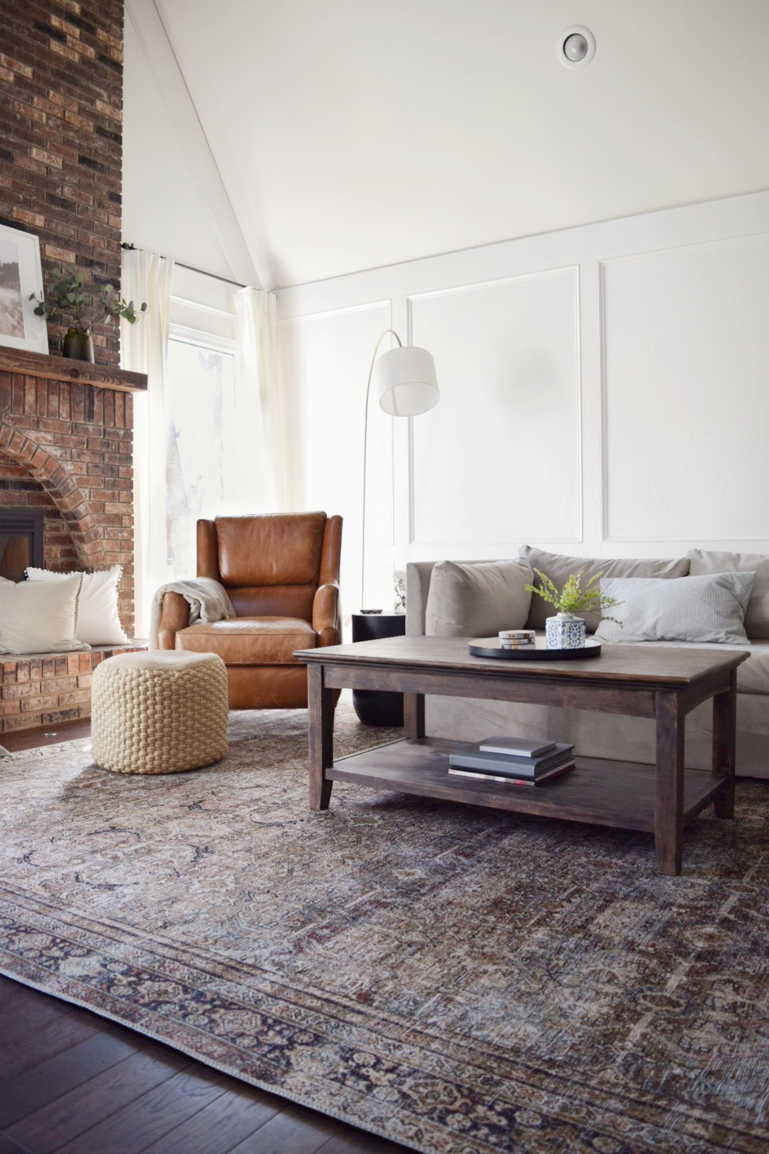 New Vintage Style Living Room Rug – First Impression – The ...